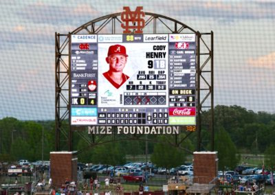 Dudy Noble Field Video Board