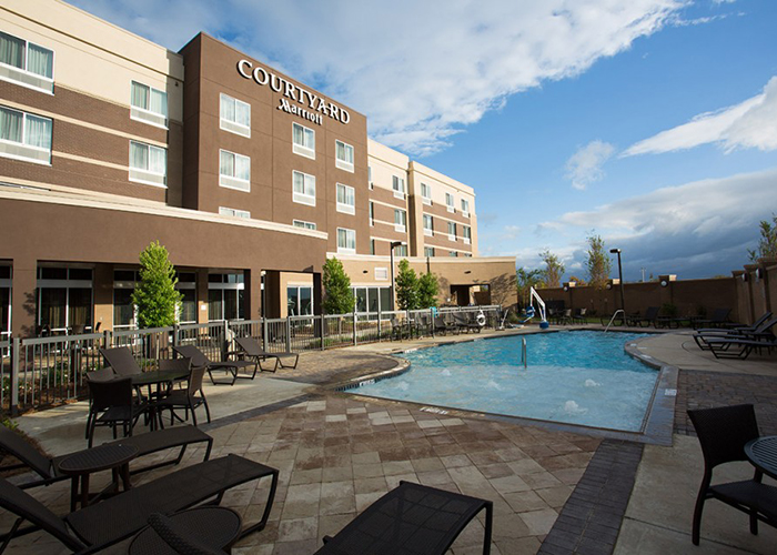 Courtyard Marriott at The Mill