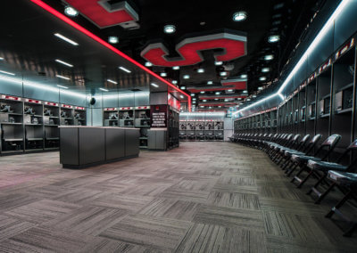 Davis Wade Stadium Locker Room